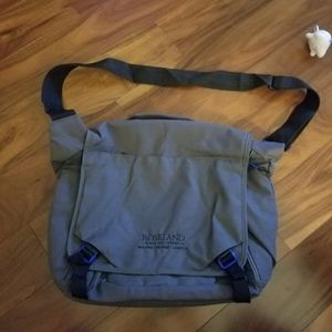Other - Gray & Black Soft Tote/Laptop Bag